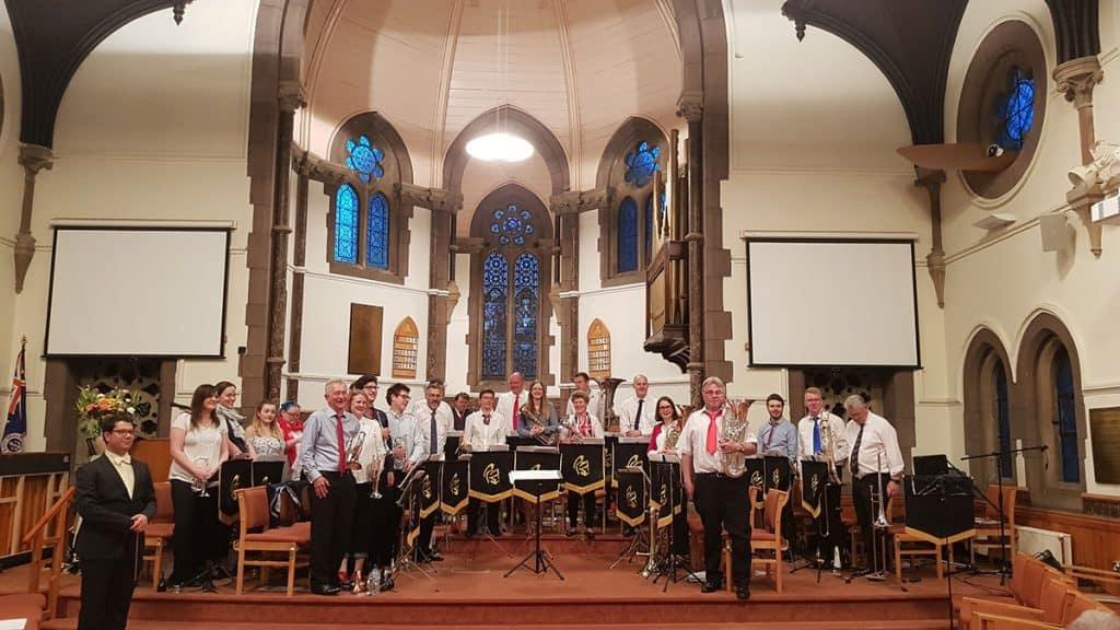 St Albans City Brass Band concert