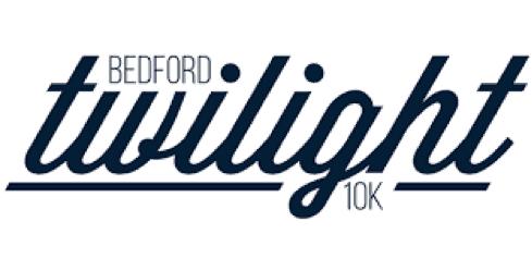 Bedford twiilight 10k logo